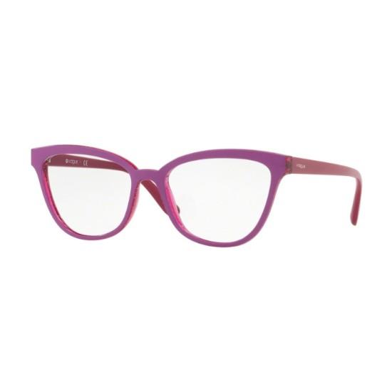 Vogue VO 5202 - 2595 Top Ciclamino / Glitter Viola | Occhiale Da Vista Donna