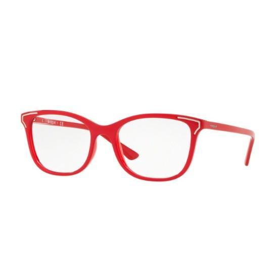 Vogue VO 5214 - 2621 Top Rosso / Rosso Trasparente | Occhiale Da Vista Donna