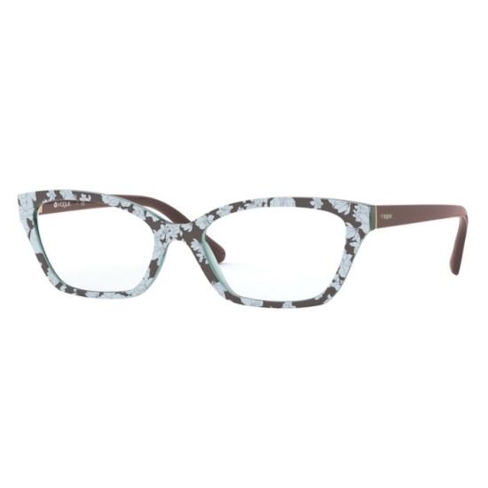 Vogue VO 5289 - 2769 Testo Marrone Superiore Azzurro | Occhiale Da Vista Donna