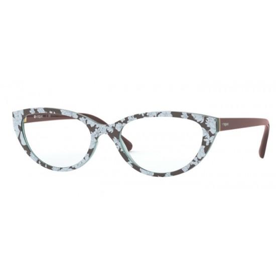 Vogue VO 5290 - 2769 Testo Marrone Superiore Azzurro   Occhiale Da Vista Donna