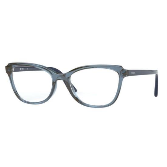 Vogue VO 5292 - 2764 Blu / Blu Trasparente | Occhiale Da Vista Donna