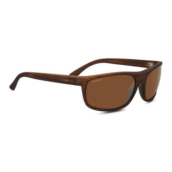 Serengeti ALESSIO - 8676 Soffice Venatura Del Legno | Occhiale Da Sole Unisex