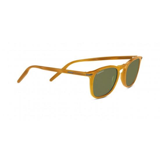 Serengeti DELIO - 8855 Miele Splendente   Occhiale Da Sole Unisex