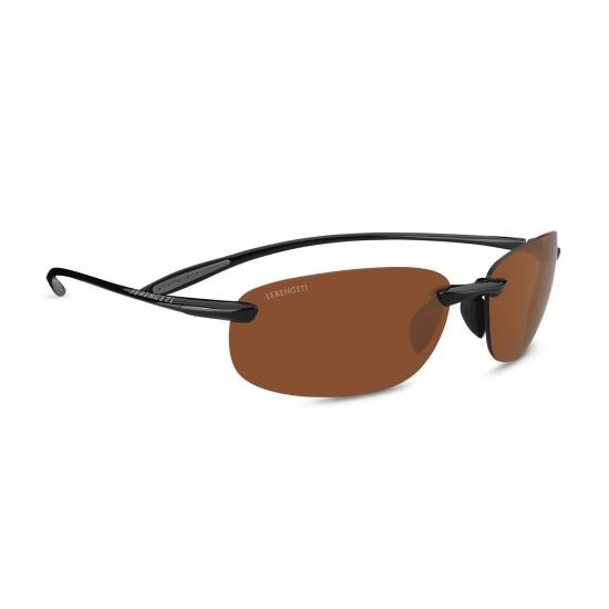 Serengeti NUVINO - 7317 Nero Lucido | Occhiale Da Sole Unisex